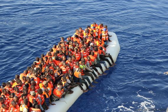 barca migrantes