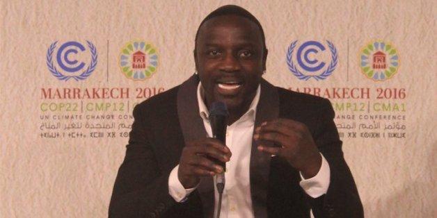 Le message humaniste de Akon à la COP22