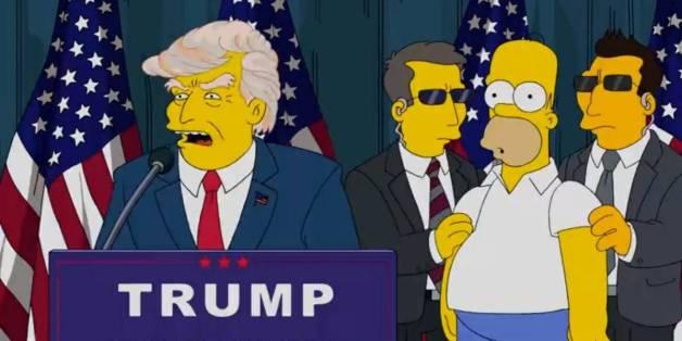"""In Jahr 2000 sagten die """"Simpsons"""" Trumps Präsidentschaft voraus"""