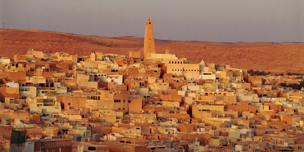 ALGERIA - MARCH 5: View of Ghardaia, M'Zab Valley (UNESCO World Heritage List, 1982), Algeria. (Photo by DeAgostini/Getty Images)