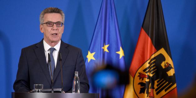 """De Maizière spricht nach Salafisten-Razzia: """"Deutschland ist eine wehrhafte Demokratie"""""""