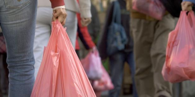Plastiktüten wurden aus den meisten Lebensmittelgeschäften Kaliforniens verbannt.