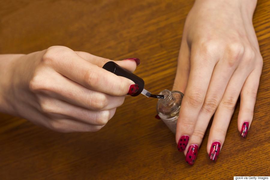 nail polish top coat