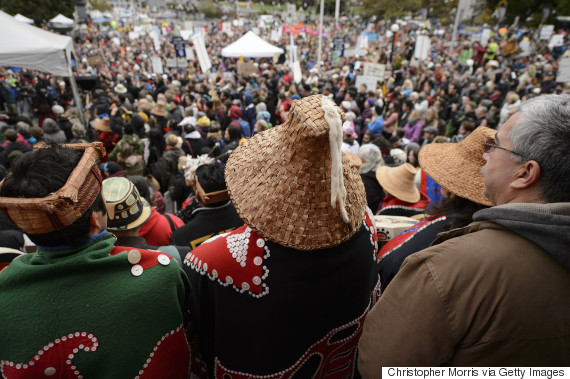 northern gateway protest