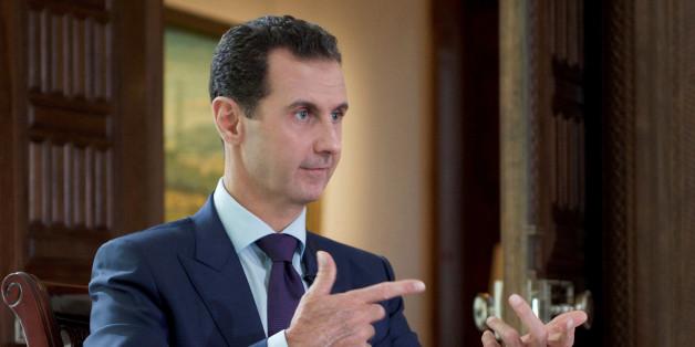 Der syrische Diktator Baschar Al-Assad freut sich über Trumps Prsädidentschaft