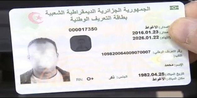 Carte Identite Algerie.Diaspora Algerienne Lancement Du Retrait Via Internet De La