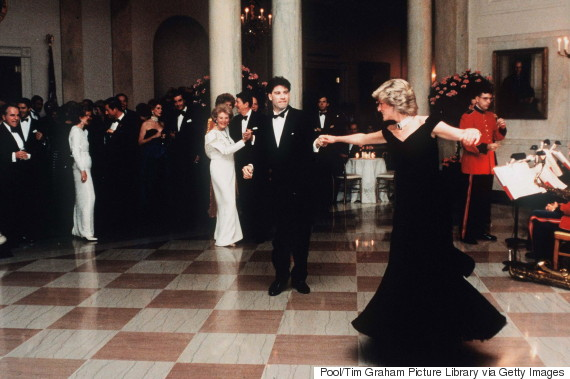 princess diana travolta