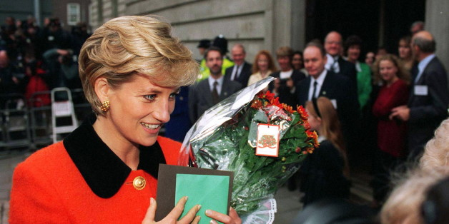 LONDON, UNITED KINGDOM - DECEMBER 09:  Diana, Princess Of Wales At Leprosy 'success And Challenge: A Celebration Of 30 Years Of Ilep' Aspatron Of The Leprosy Mission In Great Britain At The Wellcome Trust, London.  (Photo by Tim Graham/Getty Images)