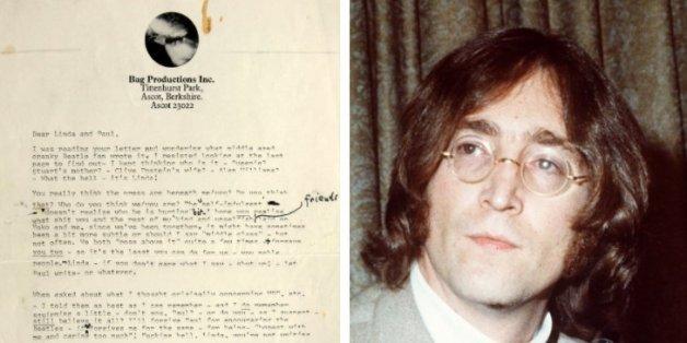 """Ein bisher unbekannter Brief von John Lennon enthüllt ein großes Geheimnis der """"Beatles"""""""