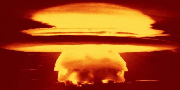 Aufnahme eines Atomtests aus den 60iger Jahren