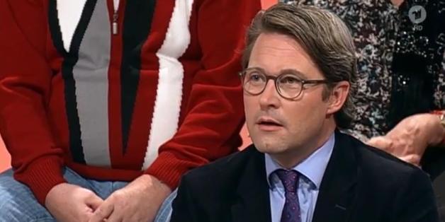 """Andreas Scheuer bei """"Maischberger"""""""