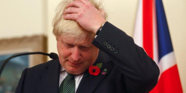 Großbritanniens Außenminister Boris Johnson stößt mit seinen Brexit-Plänen auf Unverständnis