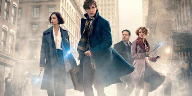 Eine neue J. K. Rowling Saga, diesmal ohne Harry Potter aber mit dem magische Tiere-Forscher Newt Scamander. Phantastische Tierwesen ist neu in den Kinostarts der Woche