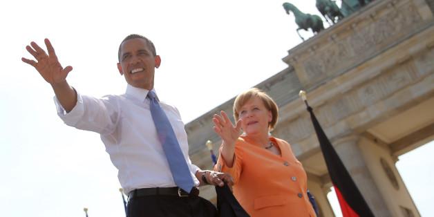 US-Präsident Barack Obama und Kanzlerin Angela Merkel plädieren für eine engere Zusammenarbeit von Deutschland und USA