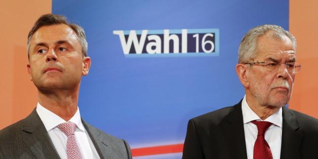 Norbert Hofer und Alexander van der Bellen treffen sich wieder zum ersten TV-Duell zur Österreich-Wahl