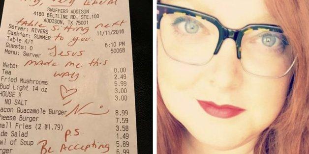 Familie schimpft im Restaurant auf Homosexuelle - dann bekommen sie die Rechnung präsentiert