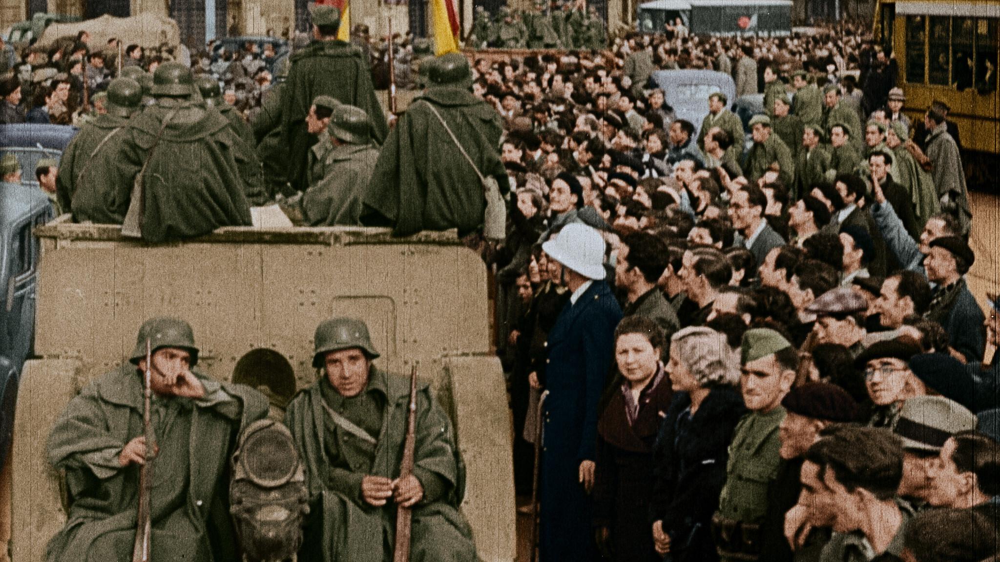 España dividida: la Guerra Civil en color\': el documental que ...
