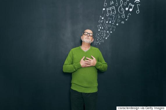 relaxing music illustration