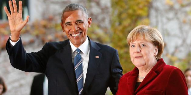 Barack Obama und Angela Merkel geben um 17.00 Uhr ihre letzte gemeinsame Pressekonferenz