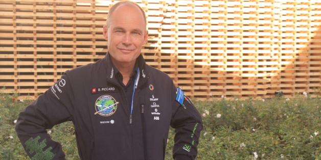 Bertrand Piccard, un des pilotes de l'avion solaire Solar Impulse, Marrakech, 17 novembre 2016
