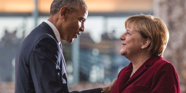 Barack Obama und Angela Merkel am Donnerstag
