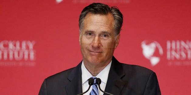 Medienbericht: Donald Trump will Ex-Präsidentschaftskandidat Mitt Romney zum Außenminister machen