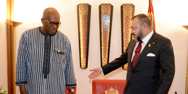 Mohammed VI et Roch Marc Christian Kaboré