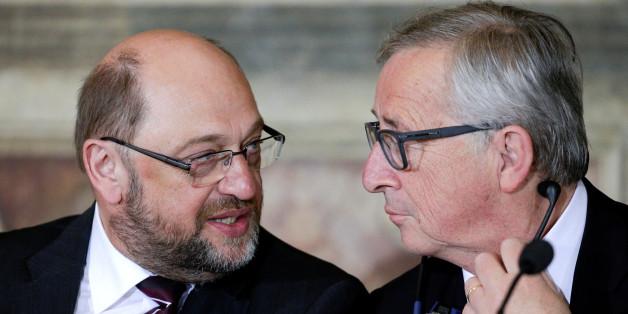Streit um Schulz-Nachfolge: Jean-Claude Juncker droht offenbar mit Rücktritt