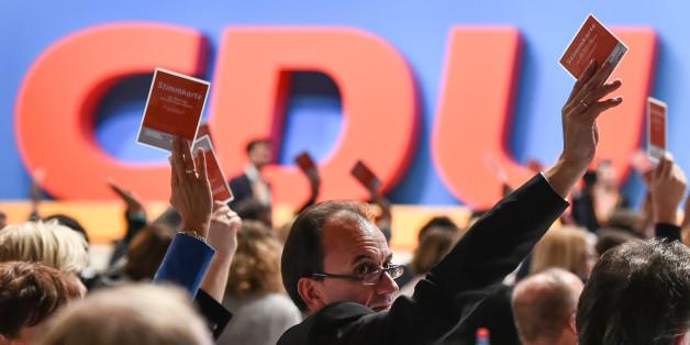 Delegierte beim Bundespartei 2015 in Karlsruhe