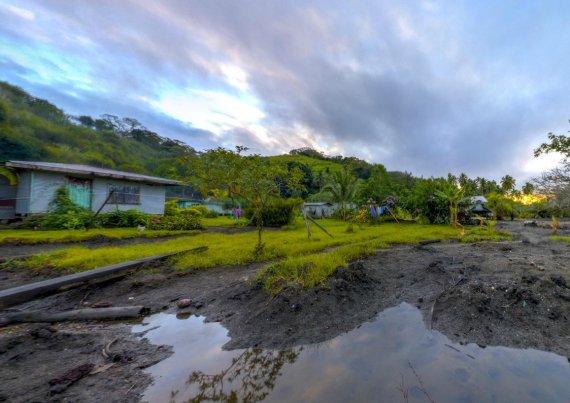 rising sea levels fiji