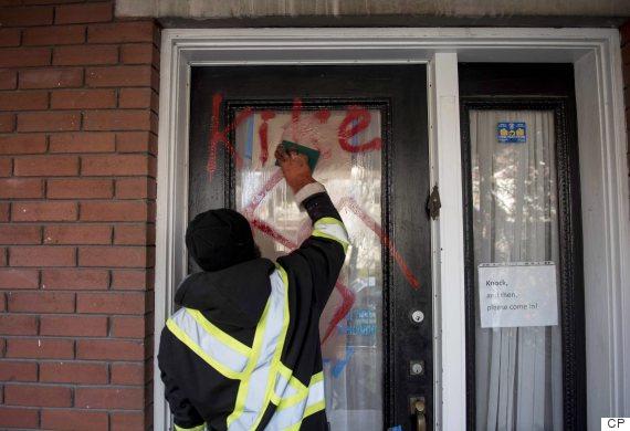 ottawa graffiti racist