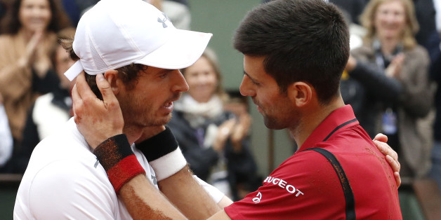 Novak Djokovic aus Serbien und der Schotte Andy Murray bestreiten das ATP-WM-Finale am Sonntag