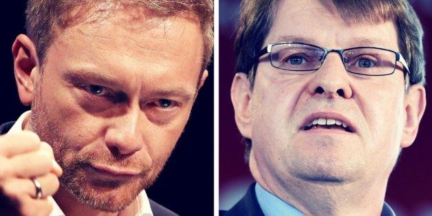 Christian Lindner (FDP) und Ralf Stegner (SPD)