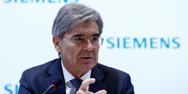 Siemens-Chef Joe Kaeser sagt, ein Grundeinkommen sei unvermeidbar