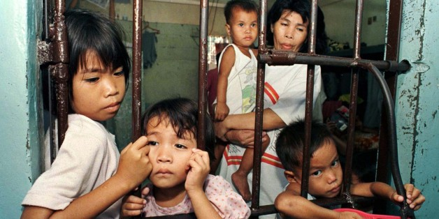 Στη φυλακή Quezon τα παιδιά μένουν με τη μητέρα τους στη φυλακή