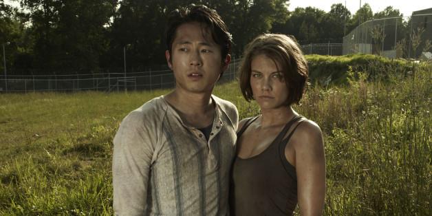 """Es ist nur noch eine Erinnerung aus vergangenen """"The Walking Dead""""-Staffeln: Der Tod hat Maggie und Glenn getrennt"""