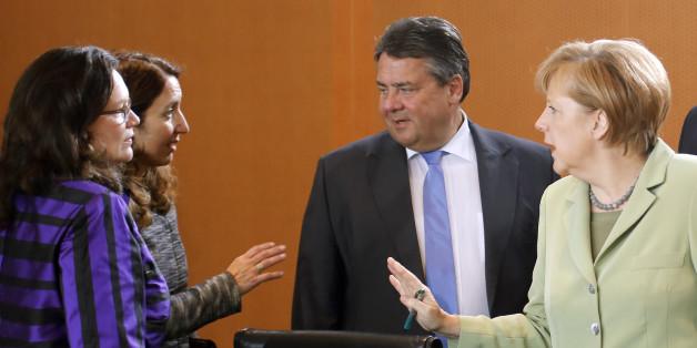 Angela Merkels Kandidatur könnte das Ende der SPD bedeuten, wie wir sie kennen