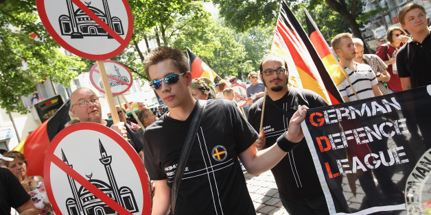 Anti-Islam-Demonstranten in Berlin (Symbolbild)