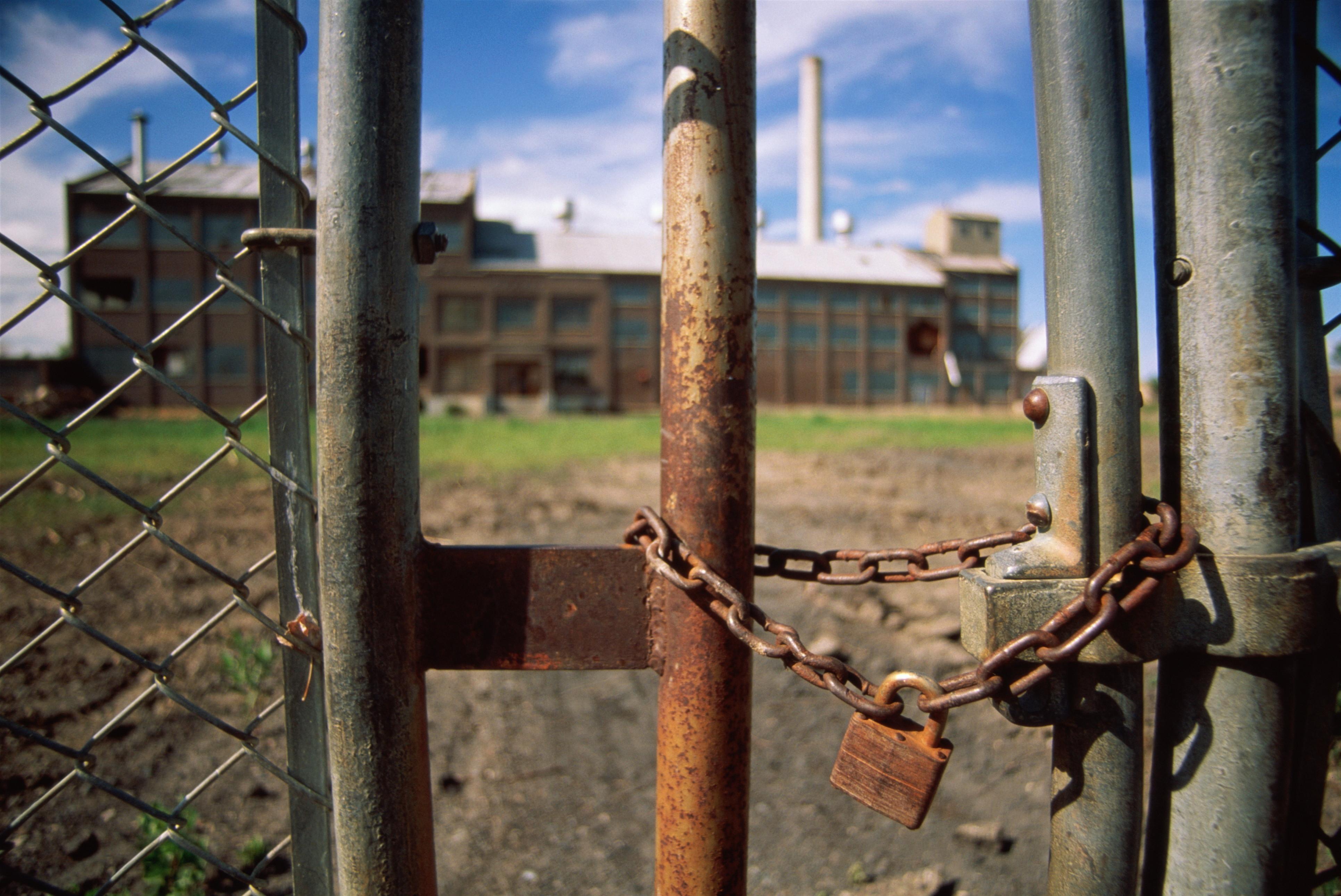 factory padlock