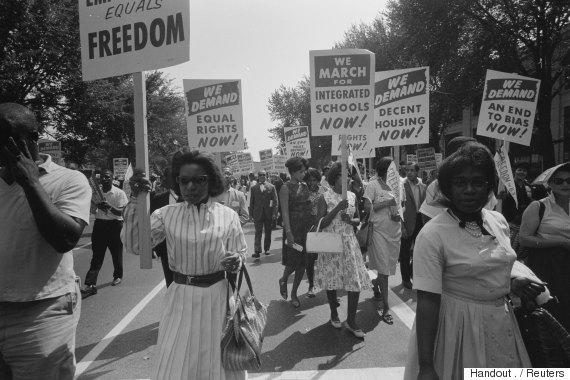 washington civil rights march