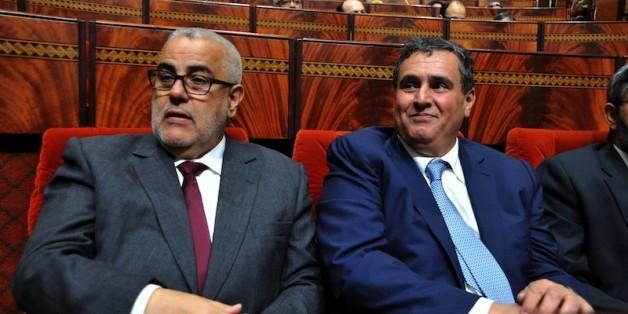 Aziz Akhannouch et Abdelilah Benkirane