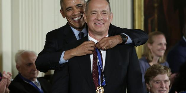 US-Präsident Barack Obama zeichnete Tom Hanks aus