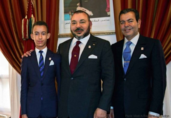 mohammed vi moulay el hassan et moulay rachid