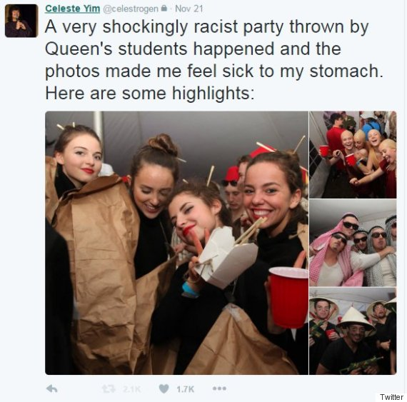 queens racist party