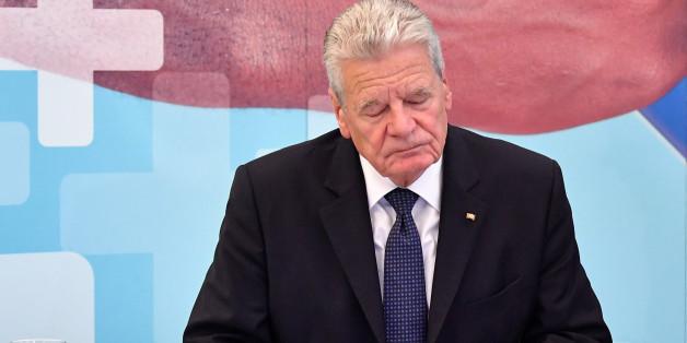 Joachim Gauck in Jena