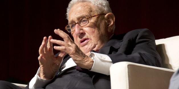 Henry Kissinger im April 2016