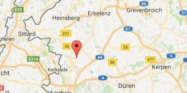 In Baesweiler bei Aachen brannte eine Flüchtlingsunterkunft