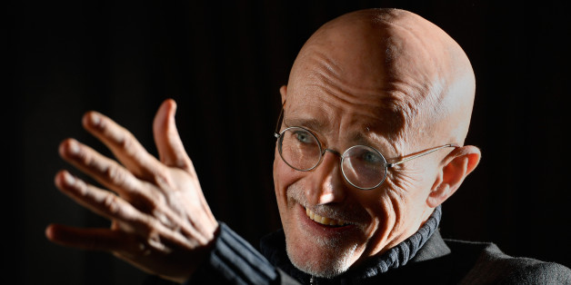 GLASGOW, SCOTLAND - NOVEMBER 18:  Italian surgeon Sergio Canavero gives a press conference on November 18, 2016 in Glasgow, Scotland. The neurosurgeon Sergio Canavero is set to announce more details about his controversial head transplant surgery at a medical conference in Glasgow tomorrow. The Doctor wishes to carry out the operation in 2017 and believes it could lead to people who have been paralysed from the neck down to being able to walk again.  (Photo by Jeff J Mitchell/Getty Images)
