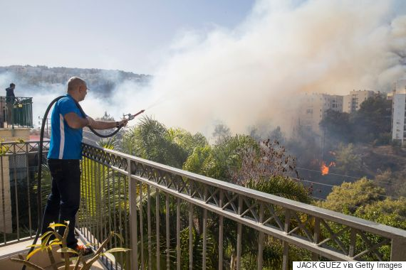 israel fire