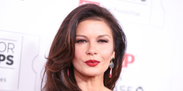 Catherine Zeta-Jones arrives at the 15th Annual Movies for Grownups Awards at the Beverly Wilshire Hotel on Monday, Feb. 8, 2016, in Beverly Hills, Calif. (Photo by Rich Fury/Invision/AP)